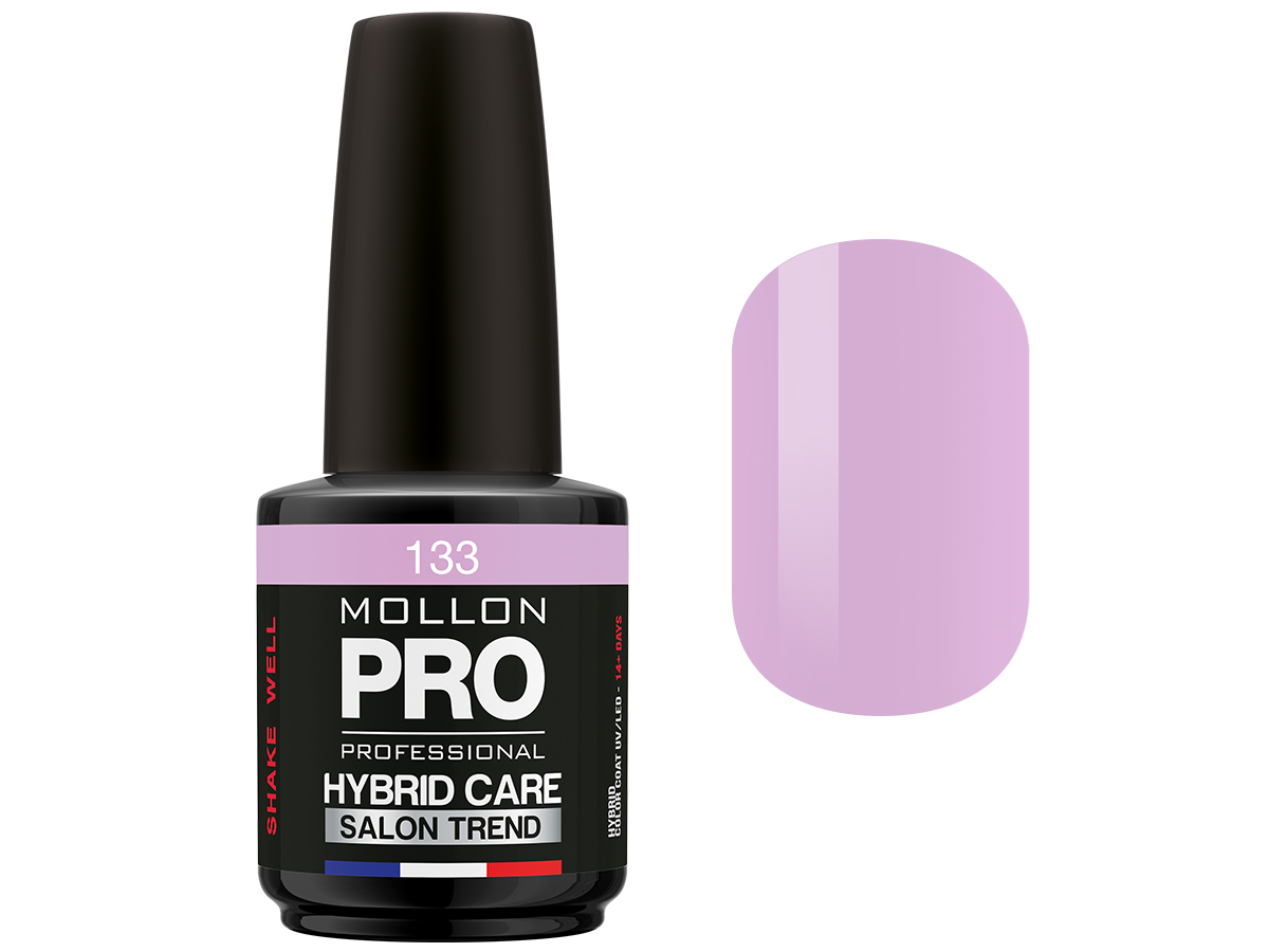 MOLLON PRO Гель-лак для ногтей HybridCare Salon Trend UV/LED / Color Coat  133 12мл