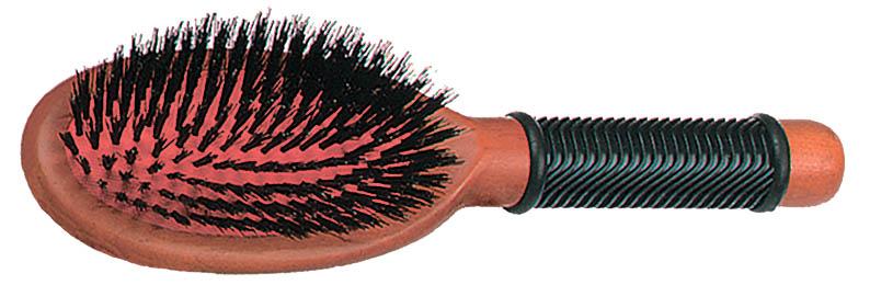 SIBEL Щетка Classic массажная деревянная, малая, натуральная щетина sibel щетка деревянная малая щетина