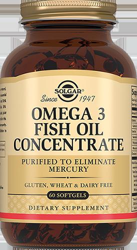 SOLGAR Концентрат рыбьего жира Омега-3, капсулы № 60