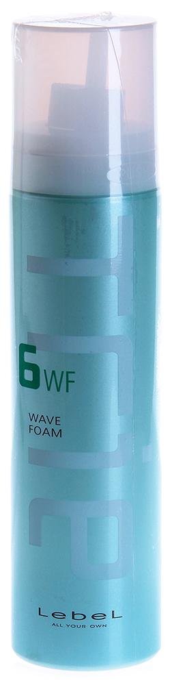 LEBEL Пена для укладки / Trie WAVE FOAM 6 200грПенки<br>Мусс Trie wave Float Foam 6 для создания прикорневого объема тонким волосам, помогает придать законченность стилю по всей длине, не утяжеляя волосы. Способ применения: Нанести на волосы у корней, приступить к укладке.<br><br>Типы волос: Тонкие