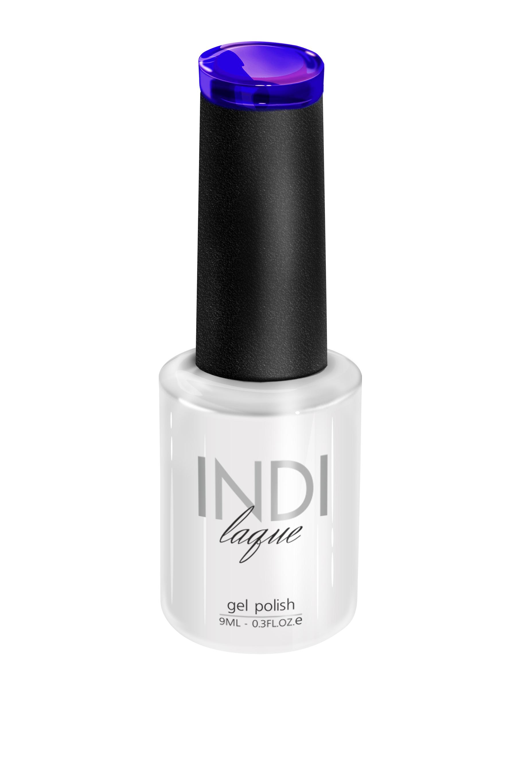 RuNail 3099 гель-лак с блестками для ногтей / INDI laque 9 мл