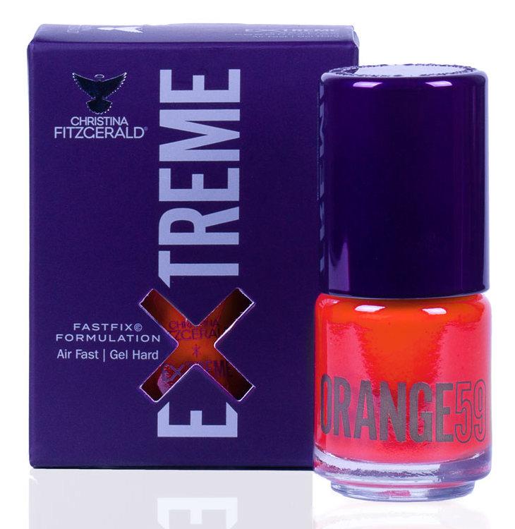 CHRISTINA FITZGERALD Лак для ногтей 59 / ORANGE EXTREME 15 мл, Оранжевые  - Купить