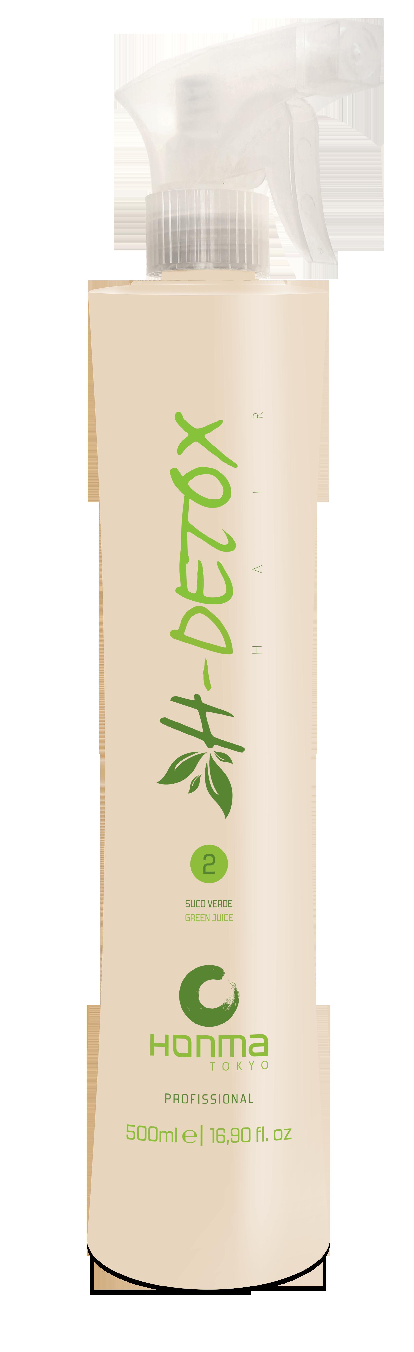 HONMA TOKYO Флюид восстанавливающий для волос / H-Detox Suco Verde- Green Juice 500 мл