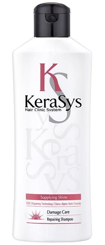 KERASYS Шампунь восстанавливающий для волос / HAIR CLINIC 180 г