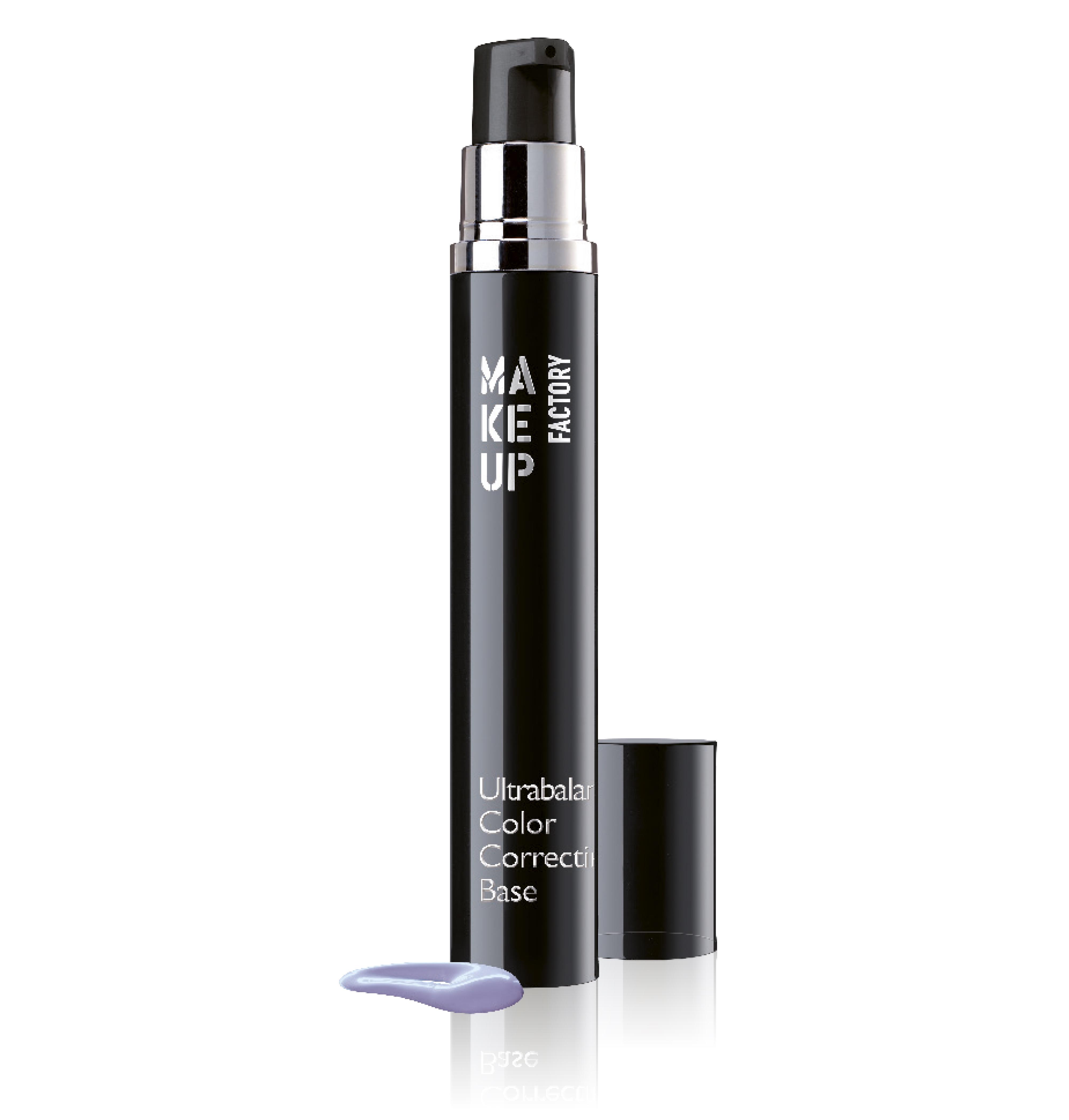 MAKE UP FACTORY База под макияж корректирующая цвет лица, 07 лаванда / Ultrabalance Color Correcting Base 15 мл
