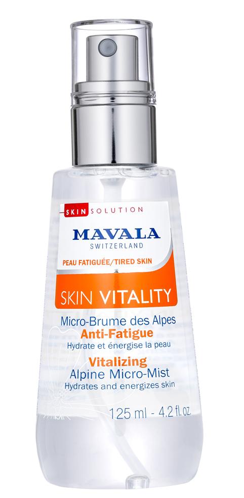 MAVALA Микро-мист стимулирующий альпийский / Skin Vitality Vitalizing Alpine Micro-Mist 125 мл