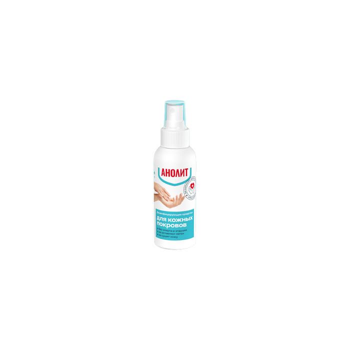 Энвиро Лайт Средство дезинфицирующее для кожных покровов во флаконе с распылителем Анолит 100 мл