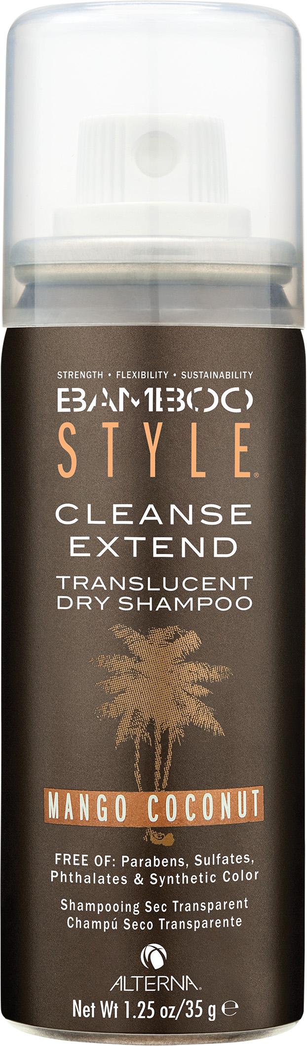 ALTERNA Спрей-шампунь сухой для свежести и объема с ароматом манго и кокоса / Style Cleanse Extend Translucent Dry Shampoo Mango Coconut BAMBOO 40 мл