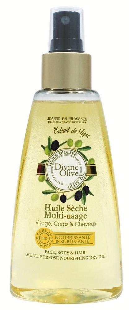 Купить JEANNE EN PROVENCE Масло универсальное питательное сухое для лица, тела и волос Божественная олива 150 мл