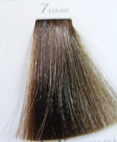 HAIR COMPANY 7 краска для волос biondo cover / HAIR LIGHT CREMA COLORANTE 100млКраски<br>Профессиональная стойкая крем-краска для волос. Результат последних разработок ведущих специалистов и продукт высоких технологий. Профессиональная стойкая крем-краска Hair Light Crema Colorante богата натуральными ингредиентами и, в особенности, эксклюзивным мультивитаминным восстанавливающим комплексом. Новейший химический состав (с минимальным содержанием аммиака) гарантирует максимально бережное отношение к структуре волос. Применение исключительно активных ингредиентов и пигментов высочайшего качества гарантирует получение однородного и стойкого цвета, интенсивных и блестящих, искрящихся оттенков, кроме того, дает полное покрытие (прокрашивание) седых волос. Тона профессиональной стойкой крем-краски Hair Light Crema Colorante дают возможность парикмахеру гибко реагировать на любые требования, предъявляемые к окраске волос. Наличие 5 микстонов и нейтрального (бесцветного) микстона, позволяет достигать результатов окраски самого высокого уровня. Применение: Смешать Hair Light Crema Colorante с Hair Light Emulsione Ossidante в пропорции 1:1,5. Время воздействия 30-45 мин.<br><br>Цвет: Корректоры и другие<br>Объем: 100<br>Вид средства для волос: Стойкая<br>Класс косметики: Профессиональная