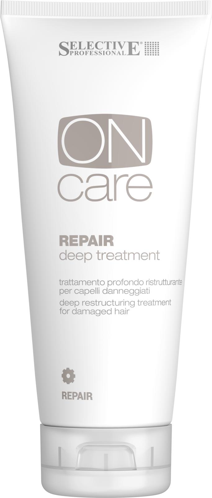 SELECTIVE PROFESSIONAL Средство глубокого восстановления поврежденных волос / On Care Repair 250 мл от Галерея Косметики