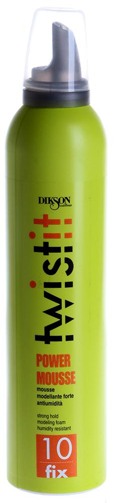DIKSON Пенка моделирующая интенсивного действия / 10 POWER MOUSSE TWIST IT 300мл~ от Галерея Косметики