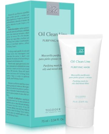 TEGOR Маска для нормальной и жирной кожи / Рurifying Mask OIL CLEAN 75 мл