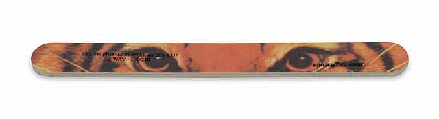 ZINGER Пилка наждачная Глаза тигра 150/220 / zo-EA-1318Пилки для ногтей<br>Пилка наждачная для маникюра. Активные ингредиенты. Состав: пластик, покрытие инструментов: абразивное 150/220 грит &amp;nbsp; Количество рабочих поверхностей: 2 Цвет: с принтом Глаза тигра<br>