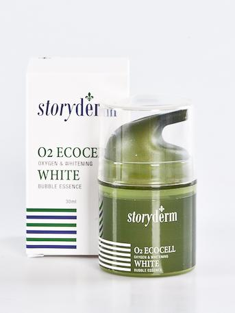 STORYDERM Крем отбеливающий / O2 ECOCELL WHITE 30млКремы<br>Сила зелёной икры. Зелёная икра, или морской виноград, выросшая в не загрязнённых областях океана, оживляет стареющую кожу. Она широко используется в пищевой промышленности и в косметических средствах, поскольку содержит минералы, белки и волокно. Антиокислительные ингредиенты зелёной икры. Крем с пузырьками кислорода! Кислородный крем осветляет кожу! Улучшение текстуры кожи. Отбеливание. Кислородная терапия. Способ применения: на последнем этапе ухода за кожей равномерно нанесите необходимый объём средства на кожу лица. Когда пузырьки кислорода выйдут наружу, не смывайте средство, а вотрите его похлопывающими движениями и дайте впитаться.<br><br>Объем: 30 мл<br>Вид средства для лица: Отбеливающий
