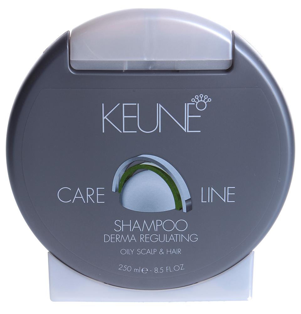 KEUNE Шампунь себо-регулирующий Кэе Лайн / CL REGULATING SHAMPOO 250мл keune кондиционер спрей 2 фазный для кудрявых волос кэе лайн cl control 2 phase spray 400мл