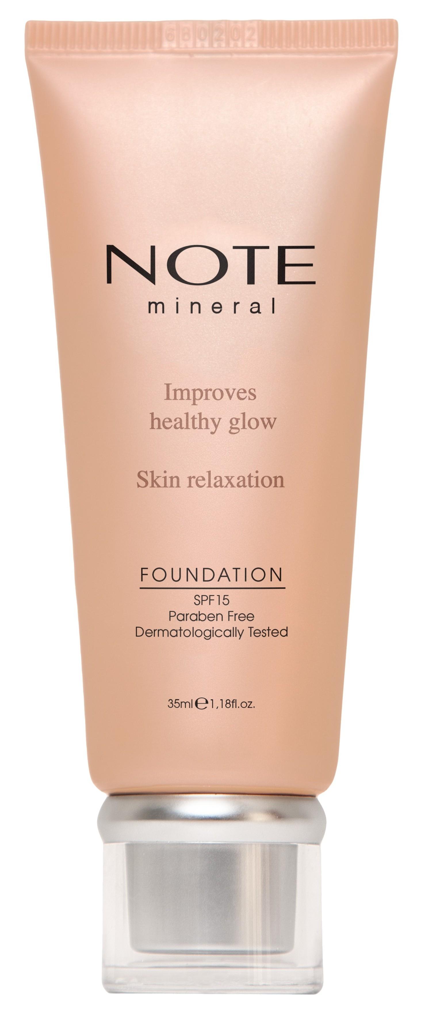 Купить NOTE Cosmetics Основа тональная минеральная для лица 404 / MINERAL FOUNDATION 35 мл