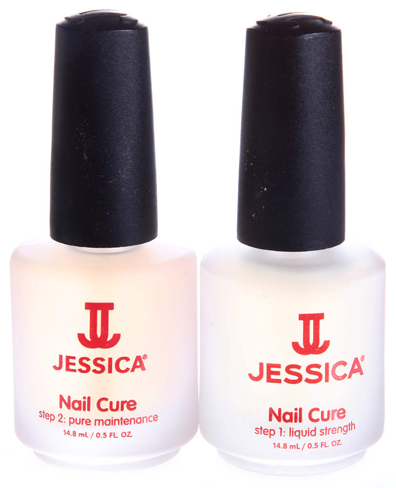 JESSICA �������� 2-� ����������� ��� ����� �� ������� / Nail Cure Twin-pack 2*14,8��~