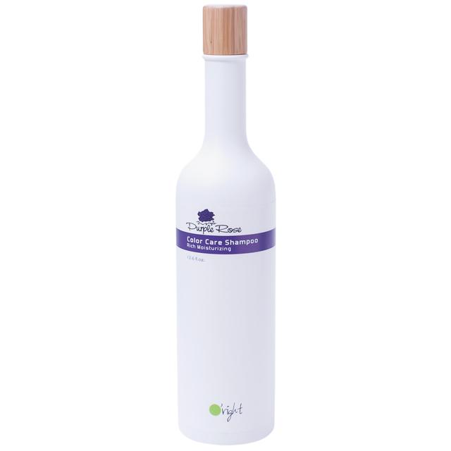 O'RIGHT Шампунь для окрашенных, поврежденных волос Пурпурная роза / Purple Rose Shampoo 400 мл -  Шампуни