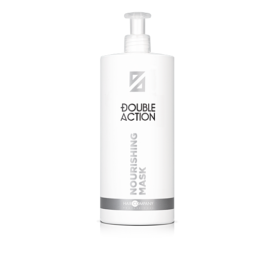 HAIR COMPANY Маска питательная / Double Action NOURISHING MASK 1000мл