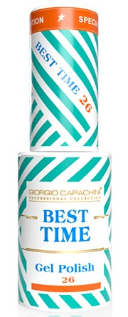GIORGIO CAPACHINI 26 гель-лак трехфазный для ногтей / BEST TIME 8 мл.