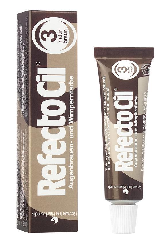 REFECTOCIL Краска для бровей и ресниц, № 3 коричневый 15 мл -  Краски для бровей