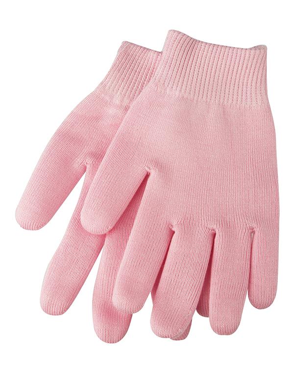 BEAUTY STYLE Перчатки гелевые увлажняющие с экстрактом розы