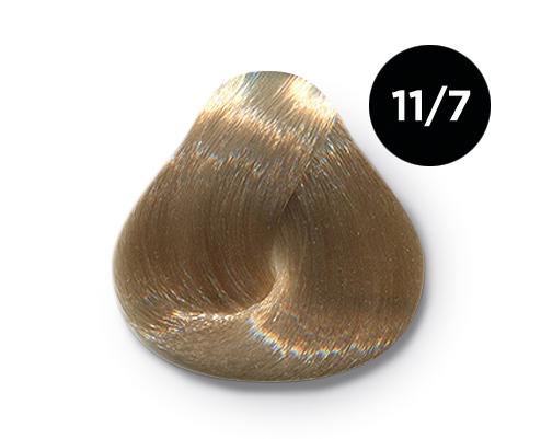 Купить OLLIN PROFESSIONAL 11/7 краска для волос, специальный блондин коричневый / OLLIN COLOR 100 мл