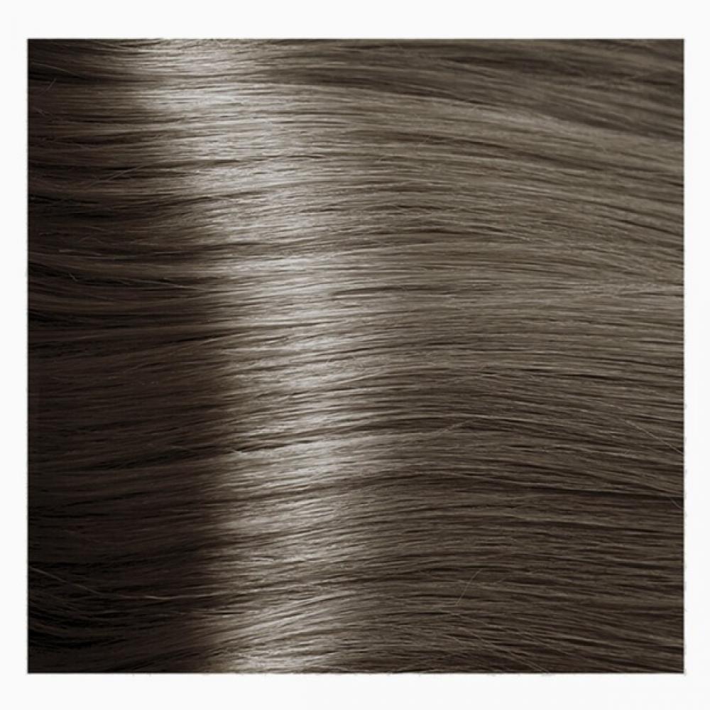 KAPOUS NA 6.1 краска для волос, темный пепельный блонд / Magic Keratin 100 мл