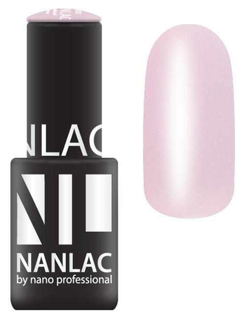 NANO PROFESSIONAL 1053 гель-лак для ногтей, королевская роза / NANLAC 6 мл