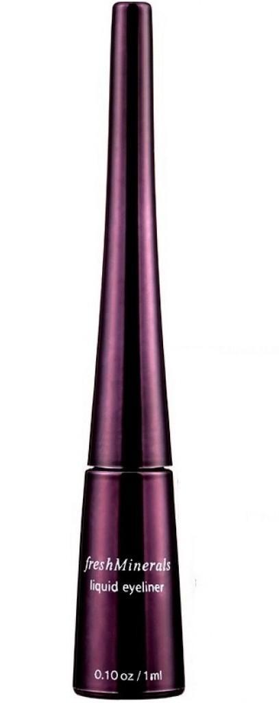 FRESH MINERALS Подводка жидкая для век Black / Liquid Eyeliner 1млПодводки<br>Жидкая подводка для век freshMinerals разработана по специальной формуле, предусматривающей быстрое высыхание и водостойкость. Жидкая подводка для век freshMinerals очень стойкая. При попадании воды на подведенный ресничный контур, макияж не растекается. Мягкая текстура подводки обеспечивает легкое нанесение и стойкость макияжа в течение всего дня. Кисточка позволяет создать на веках четкие красивые линии. Четкость линии сохраняется в продолжение всего дня. Прекрасно подходит для чувствительных глаз. Цветовая палитра удовлетворит пожелания каждой женщины, при этом разные подводки можно комбинировать, создавая уникальный оттенок. Оттенки подводки немного приглушенные: синий, зеленый, серый, приемлемы для дневного макияжа.<br>