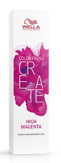 WELLA PROFESSIONALS Краска оттеночная для ярких акцентов, электрик маджента / CF CREATE 60 мл