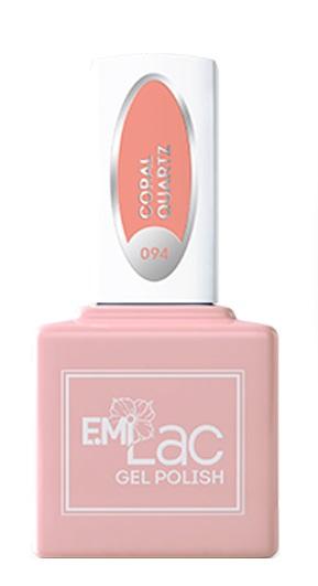 E.MI 094 TG гель-лак для ногтей, Коралловый кварц / E.MiLac 6 мл