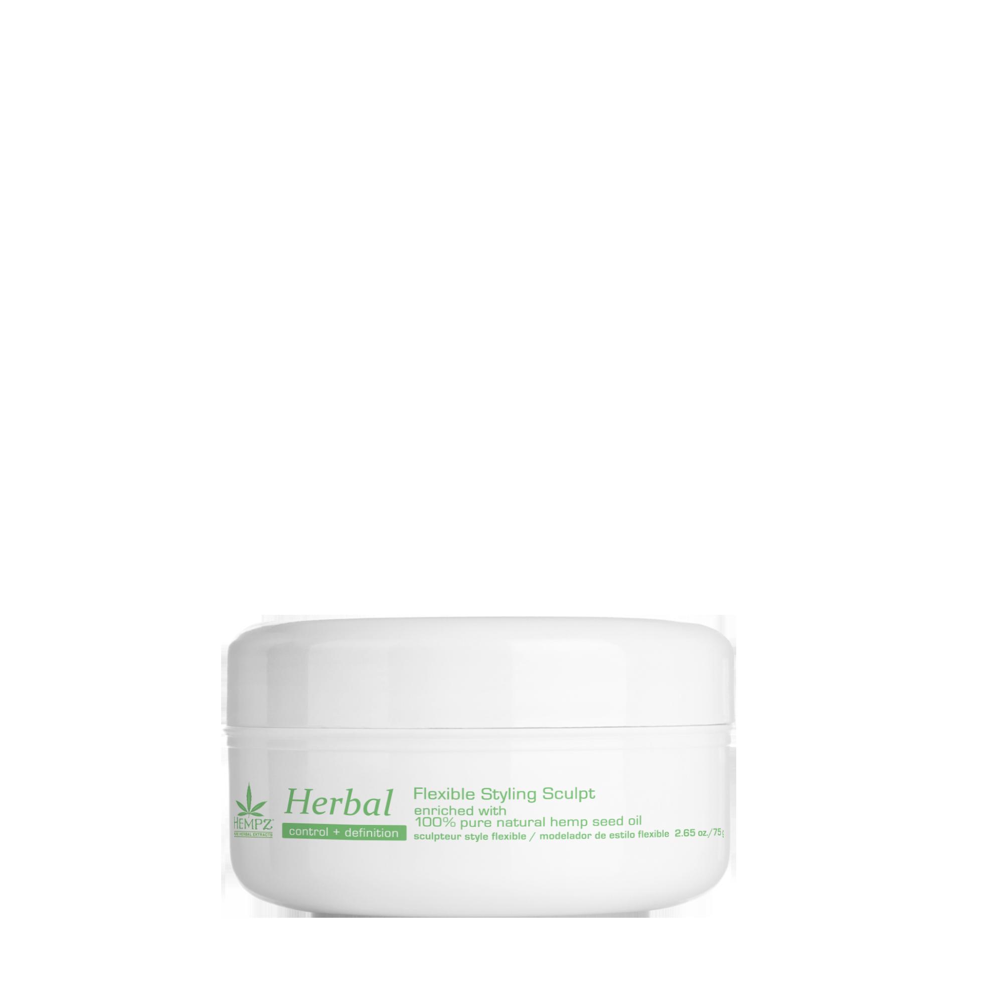 HEMPZ Паста моделирующая растительная пластичной фиксации Здоровые волосы / Herbal Flexible Styling Sculpt 75 г - Пасты