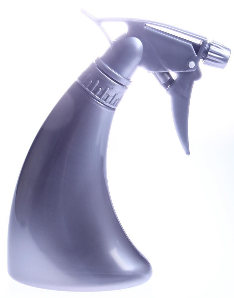 HAIRWAY Распылитель пластиковый для воды 250 мл серебристый