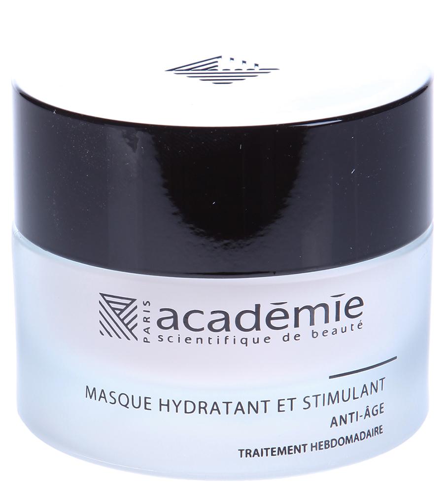 ACADEMIE Маска стимулирующая увлажняющая / VISAGE 50млМаски<br>Оживляющая маска для усталой и обезвоженной кожи. Обладает немедленным влагонасыщающим действием. Омолаживает кожу и предупреждает возможное старение, нейтрализует действие свободных радикалов. Питает клетки полезными веществами, благодаря входящим в состав маски кукурузному и кунжутному маслам. Результат: Молодая кожа со свежим оттенком и ощущением комфорта на весь день. Активные ингредиенты: кукурузное масло 4%,&amp;nbsp;комплекс полиамид - витамин Е 3%,&amp;nbsp;экстракт кунжутного масла&amp;nbsp;1%,&amp;nbsp;альфа-гидроксильные кислоты 0.2%,&amp;nbsp;активные ингредиенты 8.2%. Способ применения:&amp;nbsp;для немедленного эффекта нанести маску как крем и не смывать. Для интенсивного ухода 1-2 раза в неделю нанести маску средним слоем на кожу лица и шеи. Выдержать 10-15 минут, остатки маски удалить спонжем или салфеткой. Приступить к этапу тонизации.<br><br>Объем: 50 мл