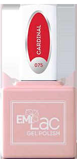 Купить E.MI 075 DV гель-лак для ногтей, Кардинал / E.MiLac Dolce Vita 9 мл, Красные