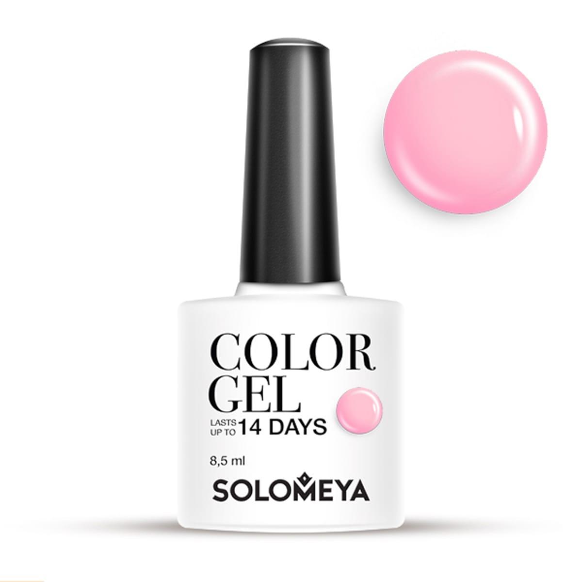Solomeya гель-лак для ногтей scg057 малина / color
