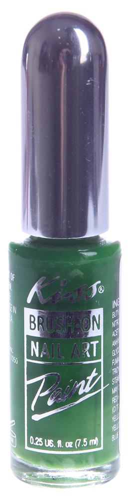 KISS ������ ��� ������� ������ ������� / Nail Paint Green 7,5��