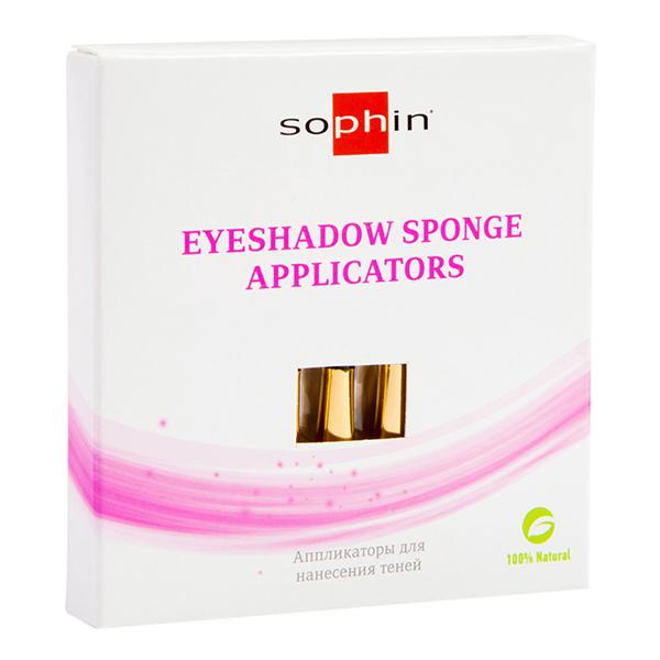 SOPHIN Аппликаторы для теней 5штНаборы<br>Удобные инструменты при выполнении макияжа. Мягкая губка с обеих сторон. Использование таких инструментов поможет самостоятельно сделать профессиональный макияж. Преимуществом аппликаторов является то, что с помощью них тени можно наносить как сухим, так и влажным способом, получая разный результат.<br>