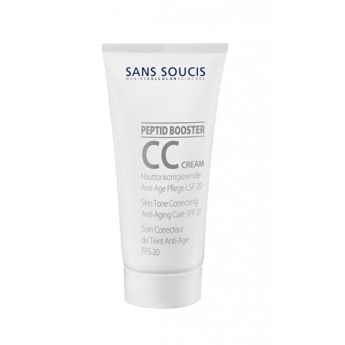 SANS SOUCIS Крем СС SPF 20 / CC CREAM COLOR CORRECTION SPF 20 40мл sans soucis крем вв spf 15 натуральный aqua clear skin beauty balm cream spf 15 natural 40мл