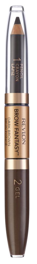 REVLON Карандаш и гель для бровей 106 / Colorstay Brow Fantasy Pencil & Gel Dark brown