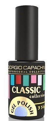 Купить GIORGIO CAPACHINI 356 гель-лак трехфазный для ногтей / Classic 7 мл, Синие