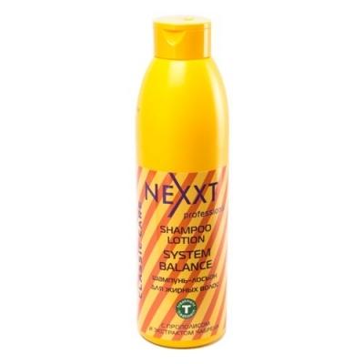 NEXXT professional Шампунь-лосьон для жирных волос / SHAMPOO-LOTION SYSTEM BALANCE 1000мл
