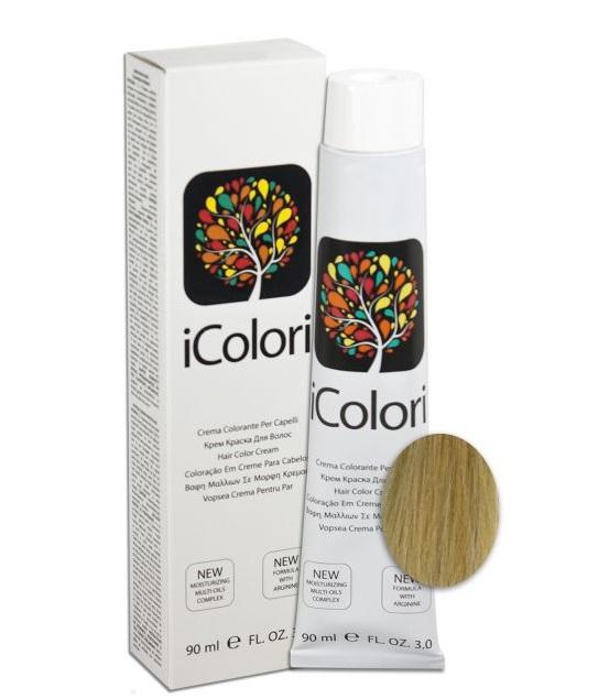 KAYPRO 12.1 краска для волос, экстра супер-платиновый пепельный блондин / ICOLORI 90 мл