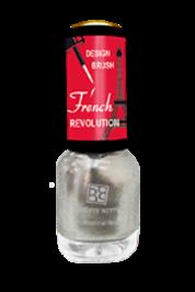 BRIGITTE BOTTIER Лак French Revolution тон FR 623 серебро / French Revolution 12млЛаки<br>Прекрасная новая революционная коллекция для дизайна ногтей, включая французский маникюр. Цветной лак с узкой дизайнерской кисточкой, удобной для&amp;nbsp;нанесения тончайших рисунков. &amp;nbsp;Помимо камуфляжных тонов &amp;nbsp;в качестве основного цветного покрытия можно использовать любой цветной лак из коллекций &amp;nbsp;Brigitte Bottier. Активные ингредиенты. Состав: бутилацетат, этилацетат, нитроцеллюлоза, ацетил трибутил цитрат, адипиновая кислота/неопентил гликоль/триметиловый сополимер ангидрида, спирт изоприловый, стирол/ сополимер акрилат, стеаралкониум бетонит, силика, Н-бутиловый спирт, бензофенон-1, диацетоновый спирт, триметилпентанедил дибензоата, полиэтилен, фосфорная кислота. Способ применения: нанесите камуфляжный &amp;nbsp;лак - одно из двух &amp;nbsp;базовых &amp;nbsp;покрытий (Base Coat 620 или Base Coat 621) или любой цветной лак из коллекций Brigitte Bottier в 2 слоя, дайте высохнуть каждому слою. Нанесите рисунок цветным лаком &amp;nbsp;из коллекции French Revolution,дайте высохнуть.Нанесите Top Coat, дайте высохнуть. &amp;nbsp;Цвета палитры могут отличаться от оригиналов из-за настройки монитора Вашего компьютера.<br><br>Цвет: Серые
