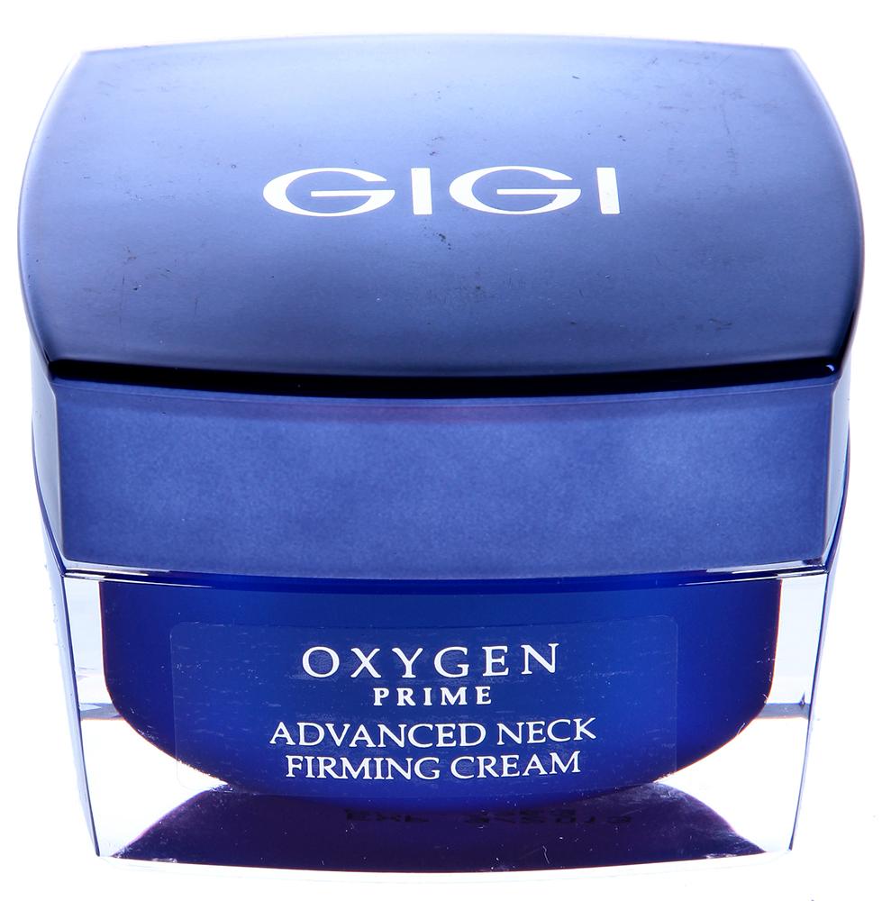 GIGI Крем укрепляющий для шеи / Neck Firming Cream OXYGEN PRIME 50млКремы<br>Кожа шеи быстро обвисает и сморщивается, выдавая наш возраст. Чтобы предотвратить этот процесс, необходимо поддерживать оптимальный уровень осигенации тканей, витаминизировать кожу и увлажнять ее, препятствуя дегидратации. Крем для кожи шеи Oxygen Prime является необходимым препаратом для профилактики и коррекции провисания и сморщивания кожи шеи! Действие: Мгновенно разглаживает и увлажняет кожу, которая в кратчайшие сроки становится мягкой и нежной. Постепенно кожа шеи укрепляется и становится упругой и эластичной. Препарат обладает выраженным лифтинговым действием. Активные ингредиенты: пальмитоилолигопептид и тетрапептид-3, диметикон, масло ши, экстракт водорослей, молочная кислота, мочевина, аллантоин, креатин, таурин, витамин Е, провитамин В5. Способ применения: Наносить на очищенную кожу шеи ежедневно утром и вечером.<br><br>Объем: 50<br>Назначение: Сухость