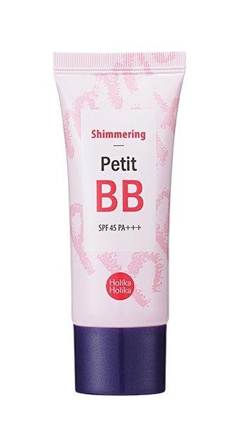 HOLIKA HOLIKA ББ крем для лица Петит ББ Шиммеринг SPF 45 PA+++ / Petit BB Shimmering 30 мл  - Купить