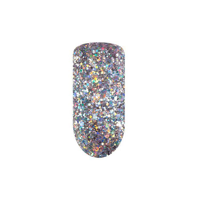 Купить IRISK PROFESSIONAL 59 гель-лак для ногтей / IRISK Glossy Platinum, 5 мл, Серые