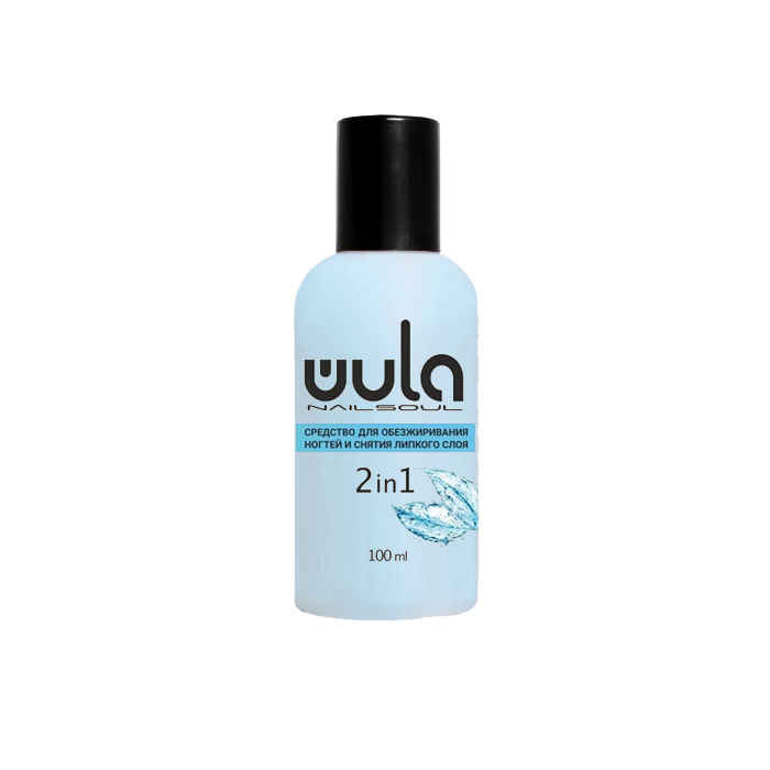 Купить WULA NAILSOUL Средство для обезжиривания ногтей и снятия липкого слоя / Wula nailsoul 100 мл